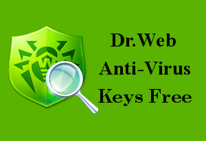 Свежие ключи для Dr.Web Antivirus & Dr.Web Security Space